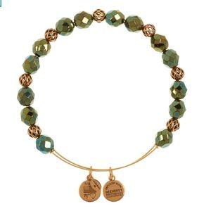 Nights Mosaic Emerald Green Alex and Ani bracelet